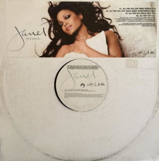 "Janet Jackson - All For You (12"") (Promo) (EX-/G)"